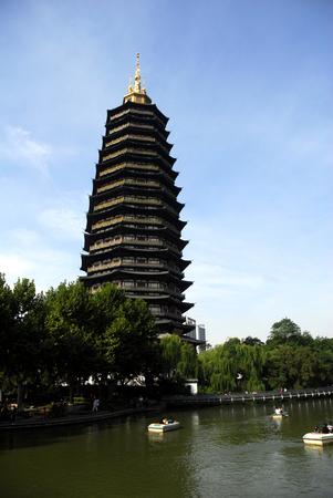 Changzhou Tianning Torre Foto de archivo - 37547972