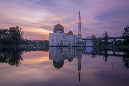 blue hour at Masjid As-Salam puchong perdana