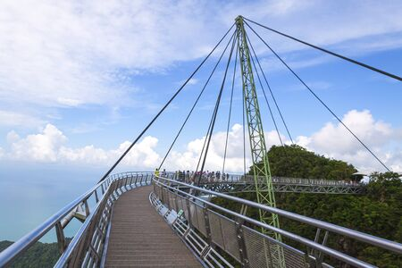 The look of Langkawi Skybridge