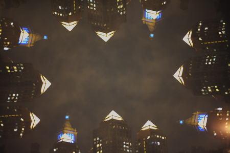 Multiple exposure nights Stok Fotoğraf