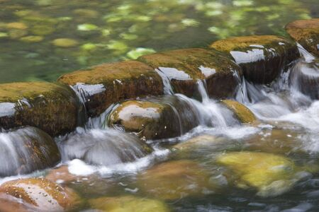 generic location: Water cascading over rocks