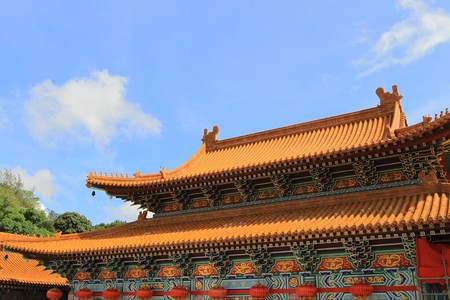 Temple of  china photo