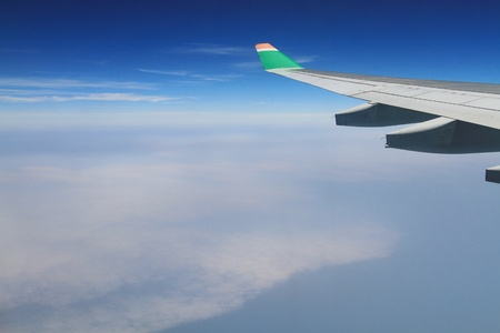 airplane view Stock Photo - 11371333