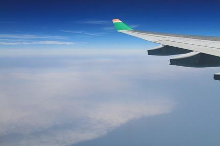 airplane view Stock Photo - 11371333