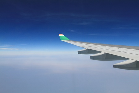 airplane view Stock Photo - 11371216