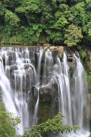 Shifen waterfall Stock Photo - 9435877