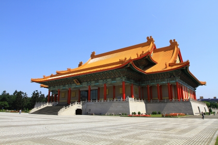 Nationale Chiang Kai-shek Memorial Hall, Taipei Standard-Bild - 11504282