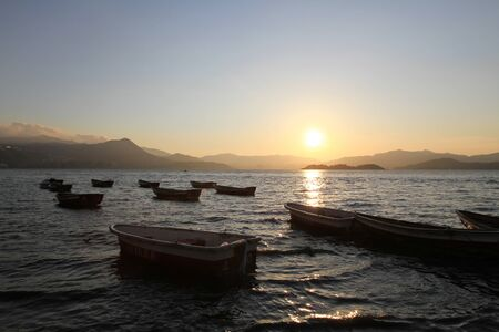 Sunset In beach Stock Photo - 11117690