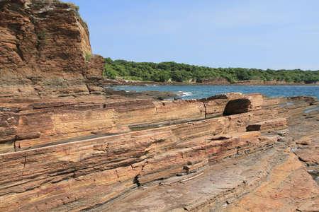 shale: Peng Chau Shale of coast