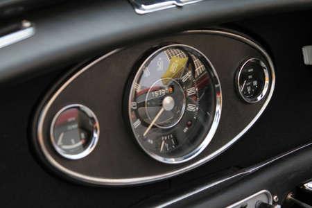 Modern Car Speed Meter In Racing Style  photo