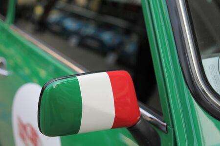 rear view mirror: espejo retrovisor