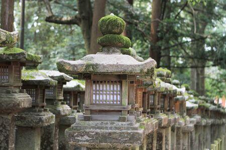 garden stone light Stock Photo - 13380435