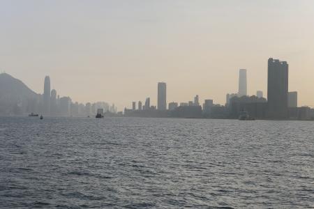 hong kong  Coastline Stock Photo - 15620229