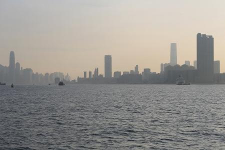 hong kong  Coastline Stock Photo - 16607271