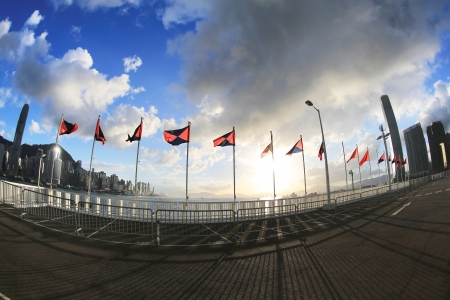 deng xiaoping: china and hong kong flag