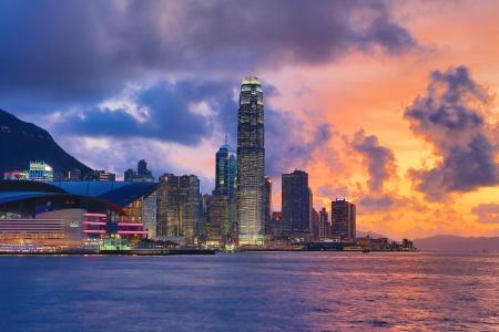 Hong Kong 夜 報道画像