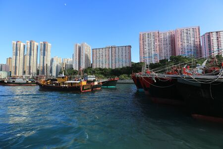 Boat, Hong Kong, China  photo
