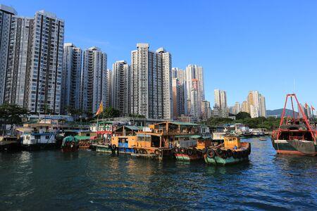Boat, Hong Kong, China  photo