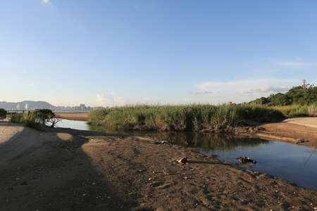 coastal feature: Coastline Stock Photo