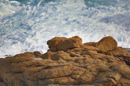 squall: Coastline Stock Photo