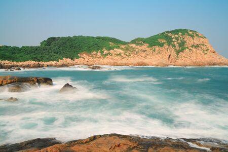 hong kong  Coastline Stock Photo - 15622201