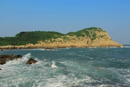hong kong  Coastline Stock Photo - 15582303