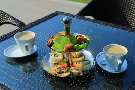 Pastries And Tea Set Stock Photo - 15645920