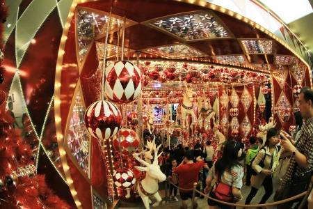 former years: Tsim Sha Tsui,  christmas lighting