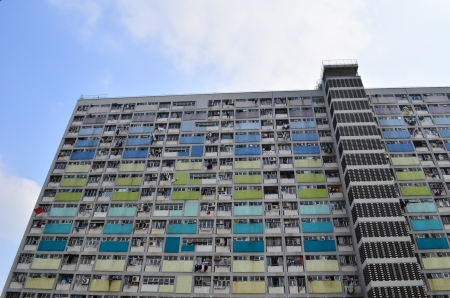 hong kong housing Stock Photo - 18124293