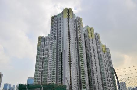 hong kong public housing Stock Photo - 17950369