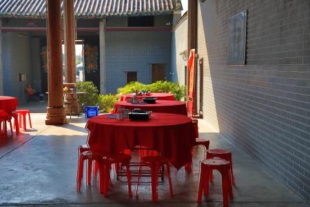 Tang Ancestral Hall Stock Photo - 21092392