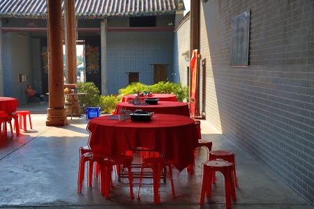 ancestral: Tang Ancestral Hall Stock Photo