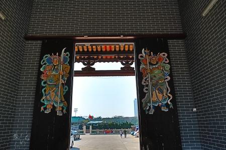 Tang Ancestral Hall Stock Photo - 21091628