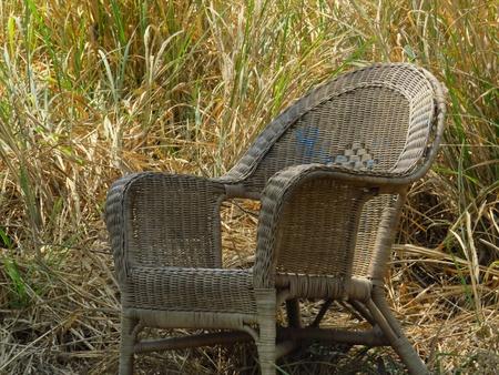 broken chair: broken  chair Stock Photo