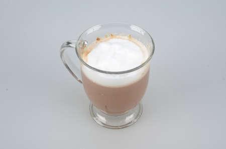 macchiato: Cafe Macchiato Stock Photo