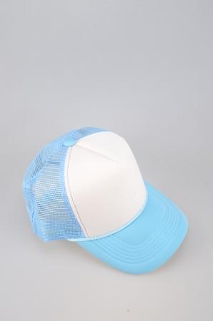 adulation: blue Cap Isolated On White Background