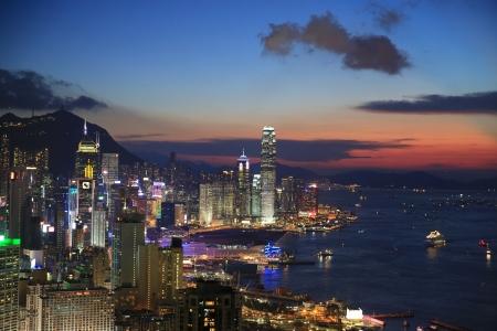 veiw:  Braemar Hill veiw hong kong central