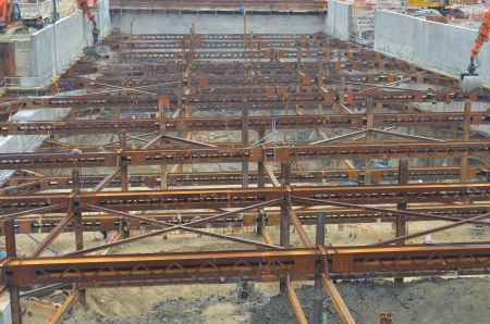 west Kowloon buiding site