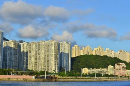 housing problems: kwun tong, lam tin , Hong Kong Stock Photo