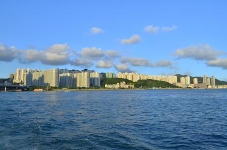 housing problems: kwun tong, kowloon bay , Hong Kong Stock Photo
