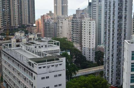 wan: sai wan hong kong Stock Photo