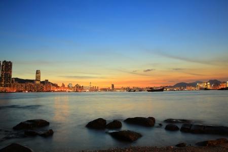 magic hour: Lei Yue Mun, Yau Tong, Hong Kong