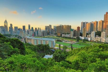 幸せな谷の香港