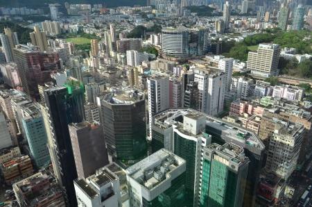 housing problems: Kowloon, Mong Kok Skyline Editorial