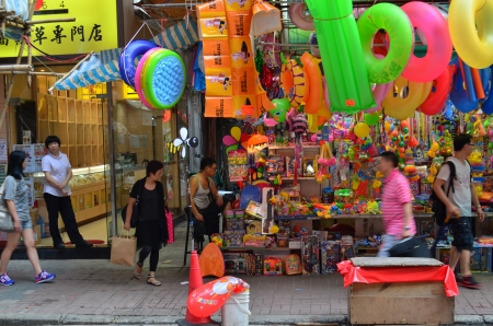 memorabilia: sheung wan street