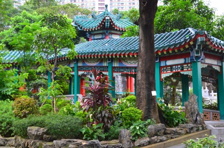 A photo of Wong Tai Sin Temple, Hong Kong Stock Photo - 21188764