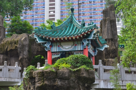 A photo of Wong Tai Sin Temple, Hong Kong Stock Photo - 21183860