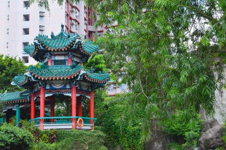 A photo of Wong Tai Sin Temple, Hong Kong Stock Photo - 21211408