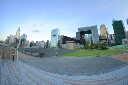 Hong Kong Central Government Complex Stock Photo - 21273517