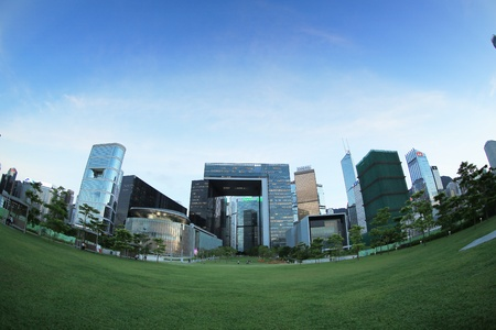 famous industries: Hong Kong Central Government Complex Editorial